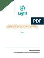 infraestrutura civil para rede de distribuicao subterranea - light - PROCT - 2014.pdf