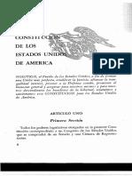 Constituición de los EEUU en castellano