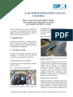 PMIBogota Analisis Sobre El Sector de Infraestructura en Colombia