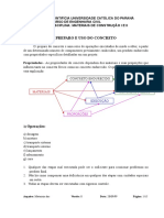 P U C - Preparo e  uso do Concreto.doc