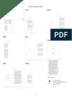 Latex Document Classes