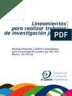Lineamientos para realziar trabajos de investigacion.pdf