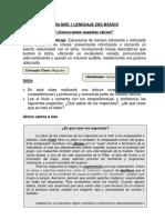 Guía 2° lenguaje