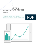DeviceAtlas Mobile Web Intelligence Report Q1 2017