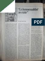 JGM La homosexualidad no existe El Porteño Año II n32 primera publicación de JGM, agosto 1984 006