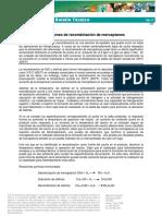 TIB-17, Mercaptan Recombination Reactions