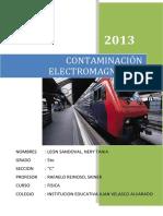 CONTAMINACIÓN ELECTROMAGNÉTIC1