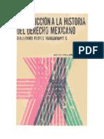 Introducción a La Historia Del Derecho Mexicano - Guillermo Floris Margadant