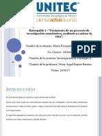 Entregable 1 - La Investigación en Psicología II.