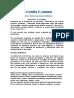 Anatomía Humana GENERALIDADES.doc