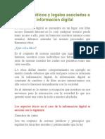 Aspectos Éticos y Legales Asociados a La Información Digital