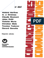 Barthes Roland - Anlisis Estructural Del Relato
