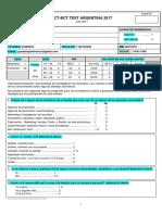 Cuestionario Degustacion Para Completar Estudio INDIVIDUAL