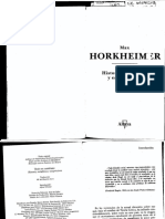 259666081 Horkheimer Max Historia Metafisica y Escepticismo Fragmento