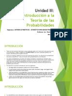 Unidad Iii_introducción a La Teoría de Las Probabilidades