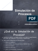Clase Simulacion de Procesosv2