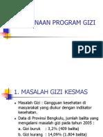 Perencanaan Program Gizi