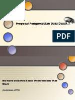 Proposal Pengumpulan Data Dasar