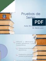Pruebas de Series, Lauris Pernalete