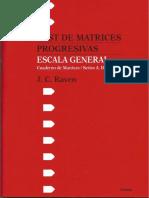 Raven_cuaderno de Matrices_escala General