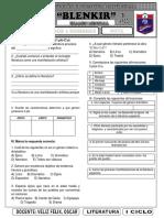 1 CICLO - EXAMEN DE LITERATURA.docx