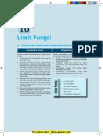 Bab 10 Limit Fungsi