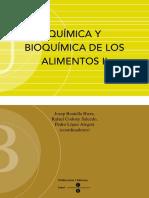 Quimica y Bioquimica de Los Alimentos