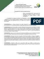 Resolução Nº 07.2017 - Quadro Sanitário No Sistema Prisional