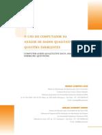 Lage & Godoy (2008) - O Uso Do Computador Na Analise de Dados Qualitativas