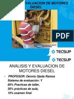Análisis y Evaluación de Motores Diesel 1ERA y 2da SESION 2016-1