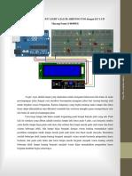 Simulasi Traffic Light 4 Jalur Arduino Uno Dengan i2c Lcd