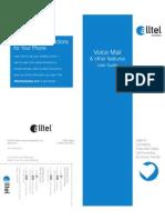 Alltel Voicemail Brochure