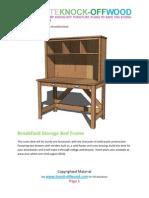 Knock-Off Wood Brook Stone Desk
