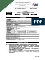 Programa Analítico Cohorte XV JLB. Sept 24 y 25 de 2015