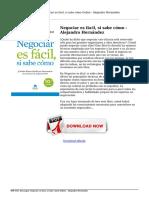 descargar-negociar-es-facil-si-sabe-como-alejandro-hernandez-Online.pdf