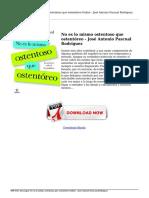 descargar-no-es-lo-mismo-ostentoso-que-ostentoreo-jose-antonio-pascual-rodriguez-Online.pdf