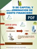Exposicion de Costo de Capital