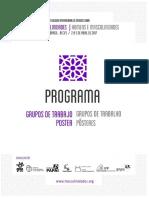 Livro Programa Masculinidades 2017
