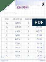 Formatos de Papéis (Abnt)