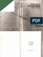 313379979 Lo Aracnido y Otros Textos Ferdnand Deligny