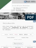 EY001 Clase11 Categorización de Recursos