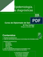 Pruebas Diagnosticas en Epidemiologia