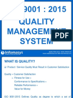ISO 9001-2015 Presentation - Infomasys.ppsx