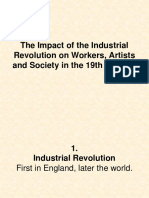 The Impact of the Industrial Revolution on Workers