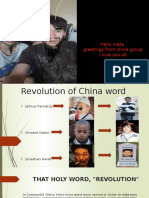 History of Writing China
