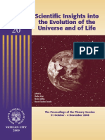 PONTIFICIA ACADEMIA SCIENTARUM, Scientific Insight Into the Evolution of the Universe of Life, 2009