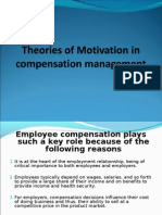Compensation Management -- Motivation
