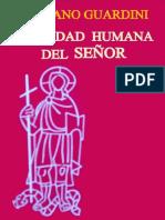 Guardini, R., Realidad Humana Del Señor. Madrid. 1956. OCR. PDF