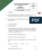 Protocolo (P6) Intercambiador de Calor de Metal