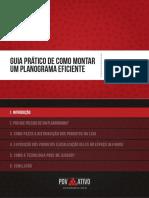 eBook Guia Pratico de Como Montar Um Planograma Eficiente1